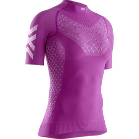 X-Bionic Twyce G2 Run Shirt SS Damen twyce purple/arctic white
